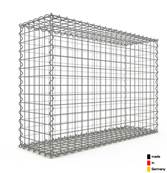 Gabion 100 x 70 x 30 cm - Qualité Made in Germany - Mailles Carrées 5 x 5 cm - GabionDeco®