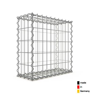 Gabion 50 x 50 x 20 cm - Qualité Made in Germany - Mailles Rectangulaires 5 x 10 cm - GabionDeco®