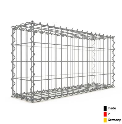 Gabion 80 x 40 x 20 cm - Qualité Made in Germany - Mailles Rectangulaires 5 x 10 cm - GabionDeco®