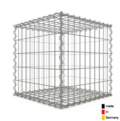 Gabion 50 x 50 x 50 cm - Qualité Made in Germany - Mailles Rectangulaires 5 x 10 cm - GabionDeco®